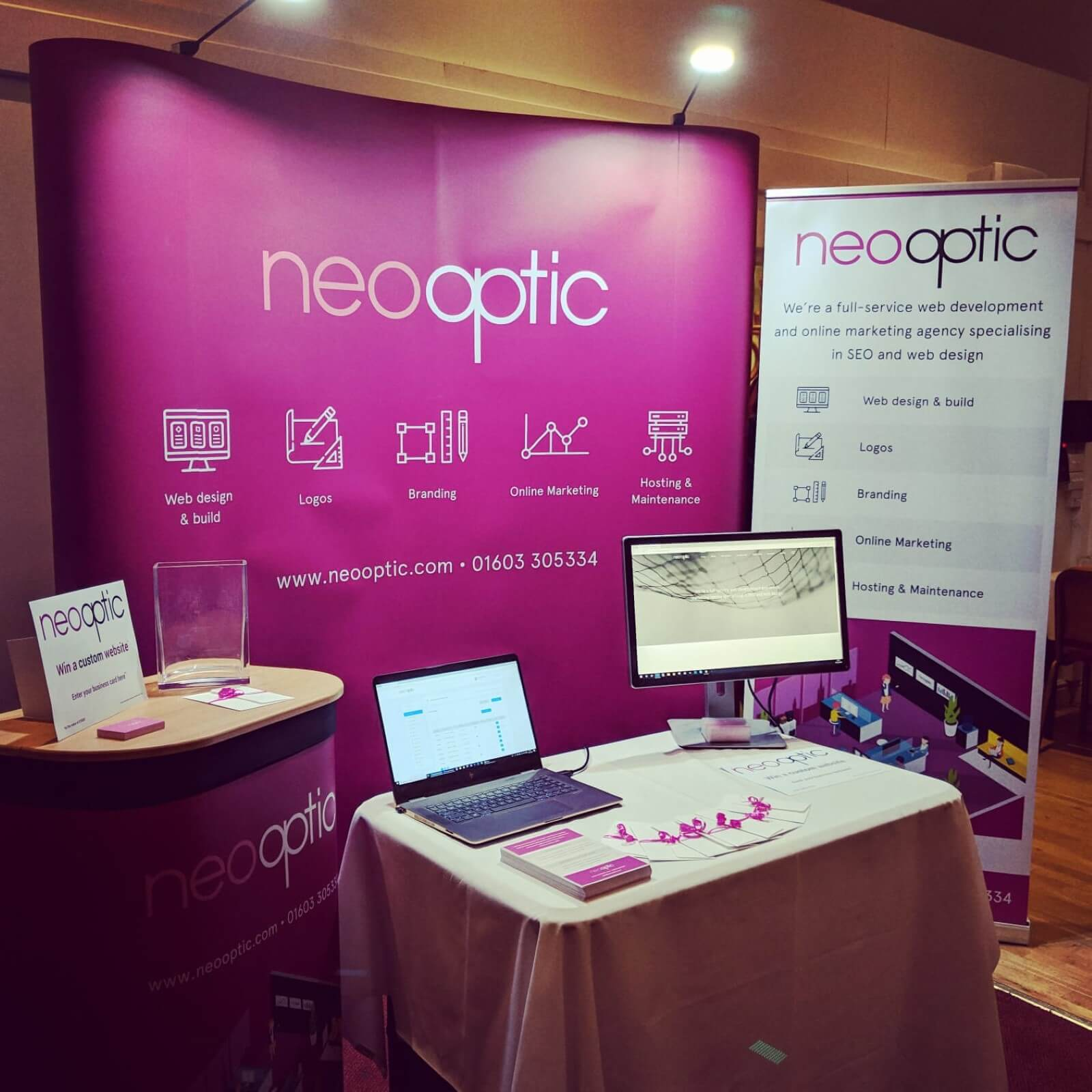 neo optic at the dmo conference